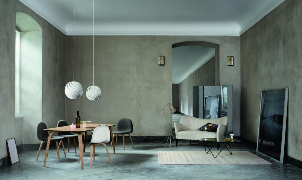 Gubi Ambiances 2013/2014. Actualité Claude Cartier décoration architecte d'intérieur à Lyon.
