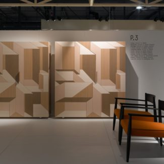 Inlay ou la marqueterie contemporaine. Actualité Claude Cartier décoration architecte d'intérieur à Lyon.