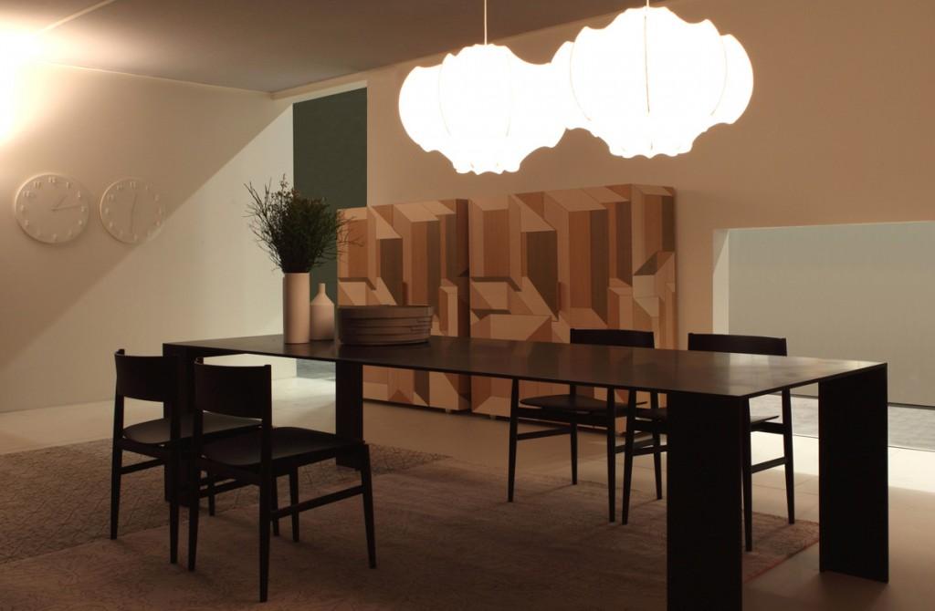 Présentation des nouveautés Porro. Actualité Claude Cartier décoration architecte d'intérieur à Lyon.