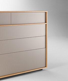 Meuble de rangement Duo, TREKU. Claude Cartier décoration architecte d'intérieur à Lyon.