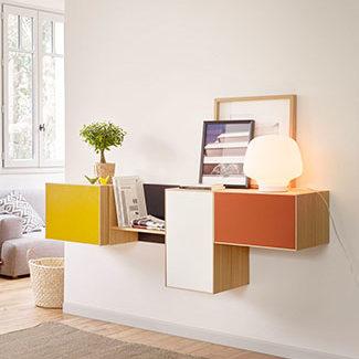 Collection de meubles de rangement LAUKI de la marque TREKU à découvrir chez Claude Cartier Décoration Lyon