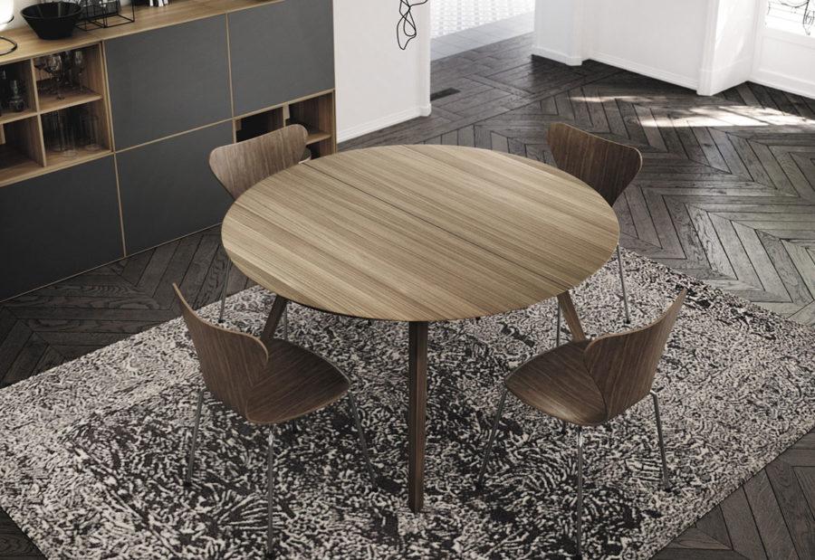 Collection de tables d repas AISE de la marque TREKU à découvrir chez Claude Cartier Décoration Lyon