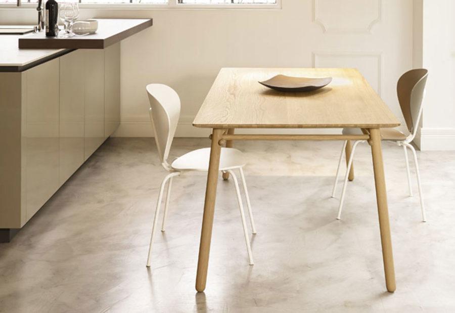 Collection de tables de repas BASOA de la marque TREKU à découvrir chez Claude Cartier Décoration Lyon