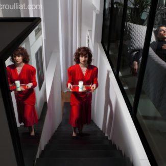 Shooting par Cédric Rouillat. Actualité Claude Cartier décoration architecte d'intérieur à Lyon.