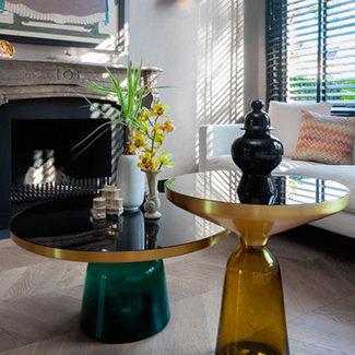 Collection Claude Cartier décoration architecte d'intérieur à Lyon. Table basse Bell Classicon
