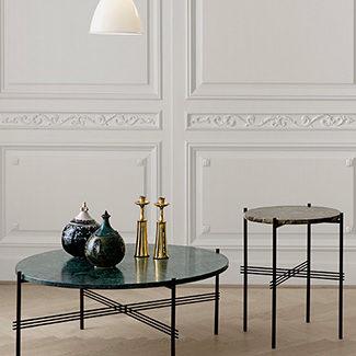 Collection Claude Cartier décoration architecte d'intérieur à Lyon. Table basse TS GUBI