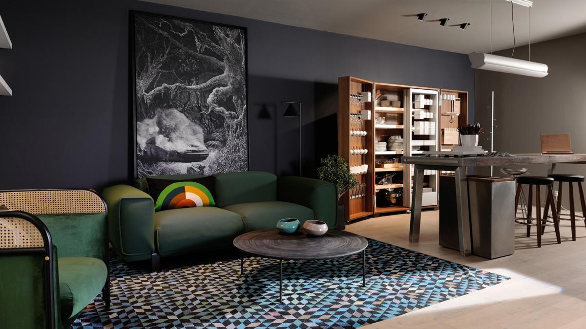 sc nographie du showroom bulthaup lyon claude cartier d coration. Black Bedroom Furniture Sets. Home Design Ideas