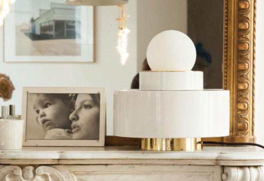 Claude Cartier luminaire Haos de table - HAOS Décoration et architecte d'intérieur Lyon