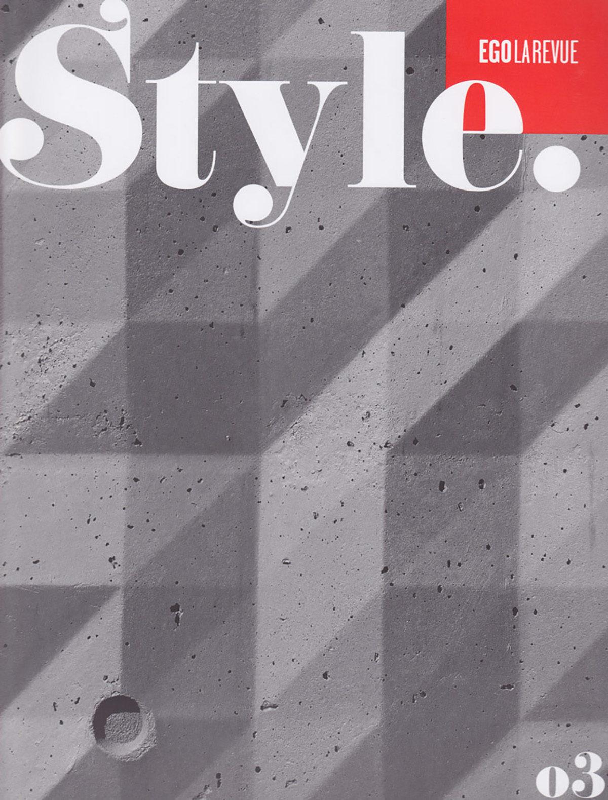 Parution presse EGO STYLE 2012 Claude Cartier décoration architecte d'intérieur à Lyon.
