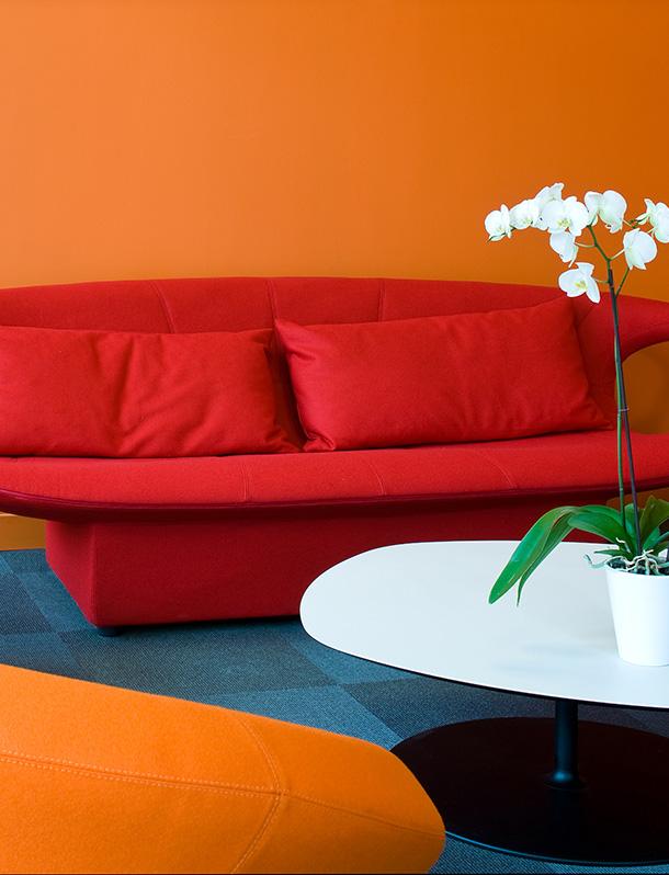 Réalisation bureau Claude Cartier décoration Architecte d'intérieur à Lyon.