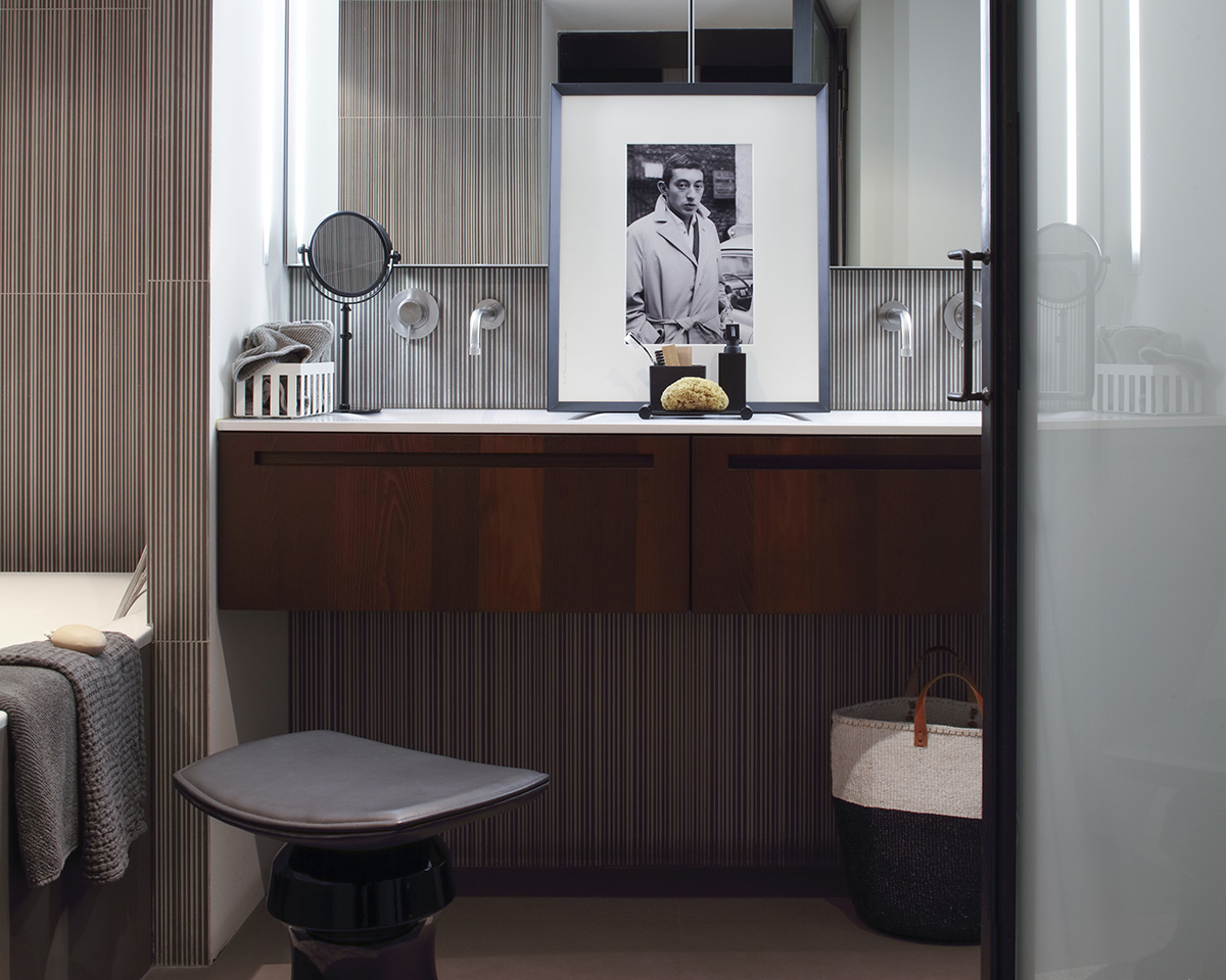 Réalisations Claude Cartier décoration architecte d'intérieur à Lyon.