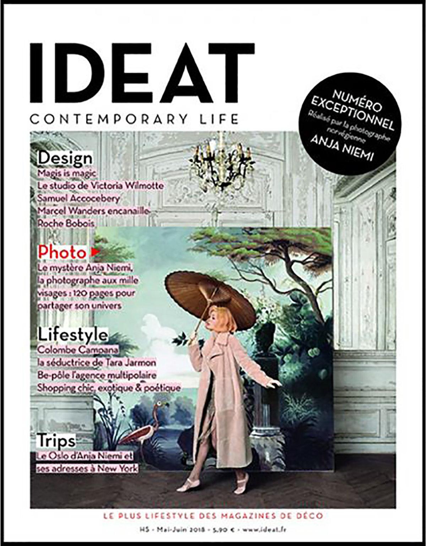 Parution presse IDEAT 2018 Claude Cartier décoration architecte d'intérieur à Lyon.