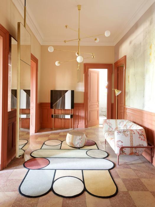 ELLE DECORATION UK. Parution presse, Claude Cartier décoration architecte d'intérieur à Lyon.