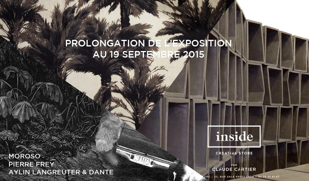 Prolongation, INSIDE, Creative store. Actualité Claude Cartier décoration architecte d'intérieur à Lyon.