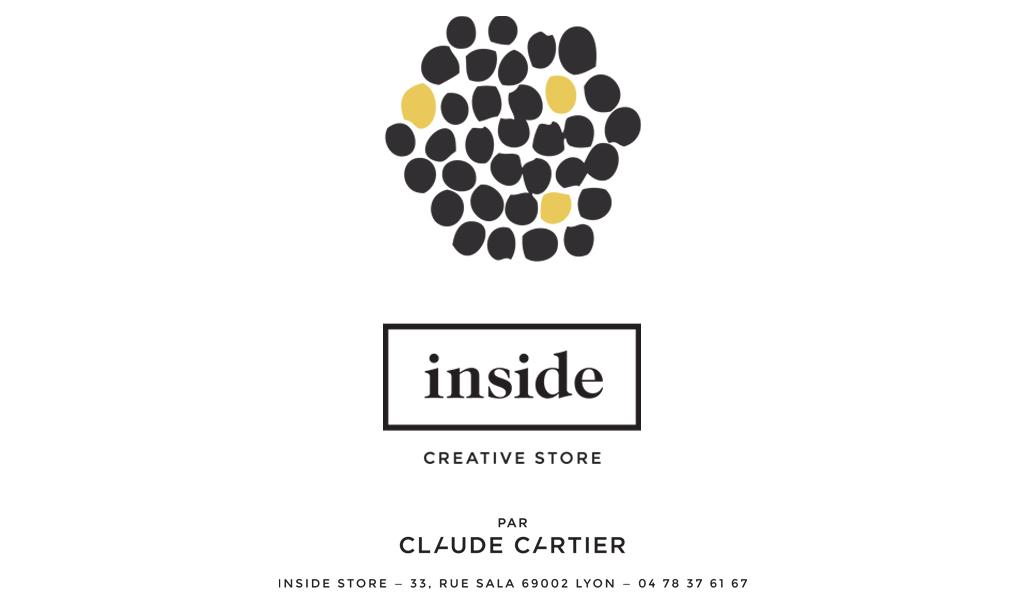 Inside Creative Store par Claude Cartier. Actualité Claude Cartier décoration architecte d'intérieur à Lyon.